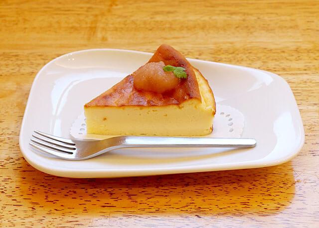 米粉100%のチーズケーキ&ドリンクセット